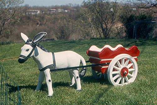 Peoria Donkey Cart In Our Back Yard I Bought This