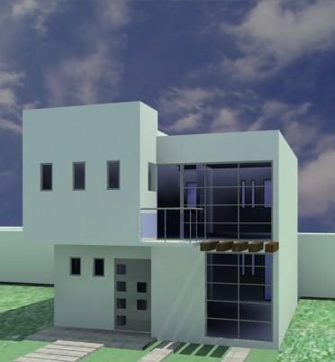 casa minimalista 7x15 mauro humberto garcia hernandez