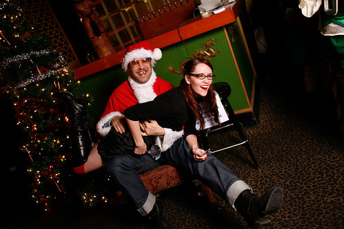 Sit on Santa Roderick's Lap! | by Three Imaginary Girls