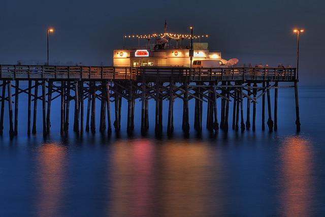 Balboa Pier Newport Beach Fishing