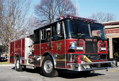 Garden City Fire Department Hq Company Gcfd Union Firefigh Flickr