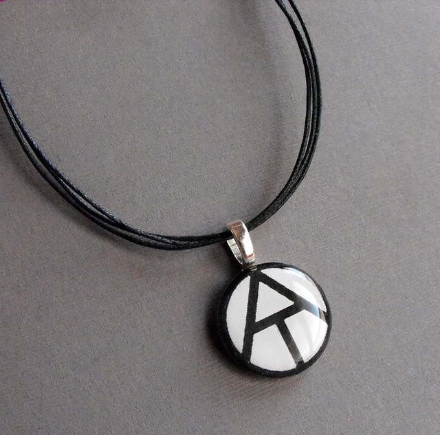 Atheist Symbol Jewelry Pendant Necklace Prototype Flickr
