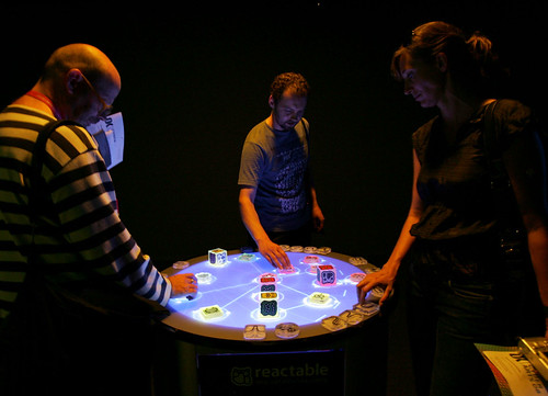 reactable / Sergi Jordŕ, Günter Geiger, Martin Kaltenbrunner, Marcos Alonso / Music Technology Group | by Ars Electronica
