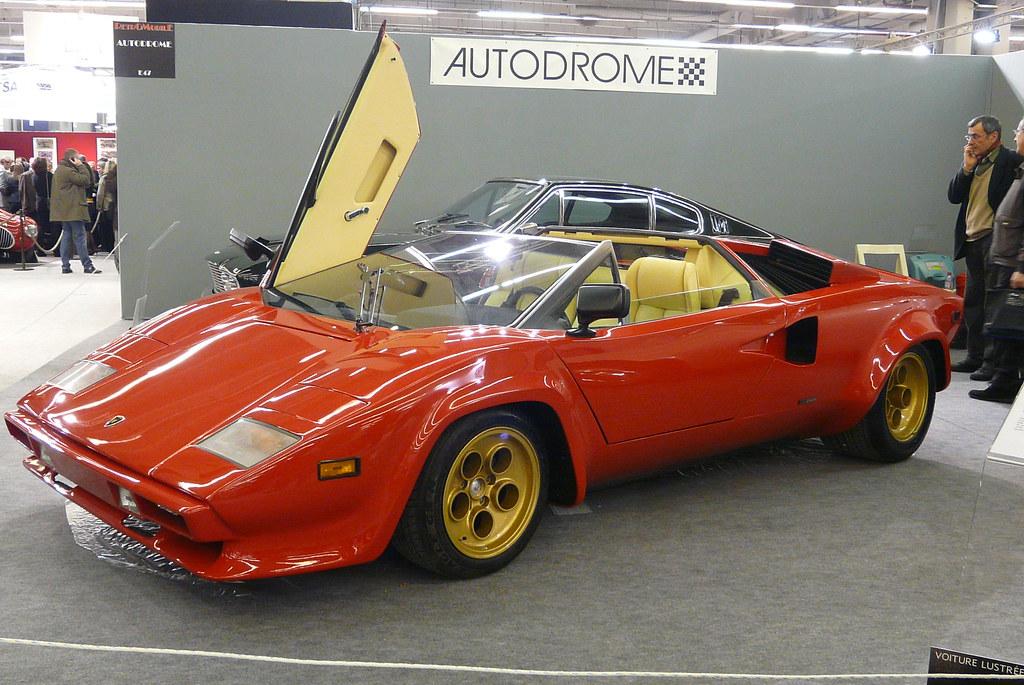 Lamborghini Countach Lp400 Spider Ex Rod Stewart Flickr