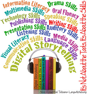 Digital Storytelling- It is not about the Tools...It's about the Skills | by langwitches
