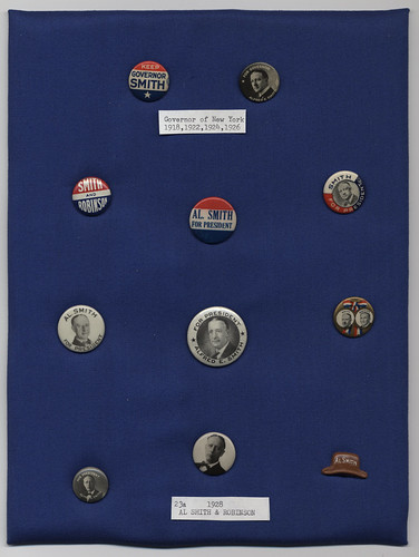 Smith-Robinson Campaign Buttons and Lapel Pin, ca. 1918-1928 | by Cornell University Library