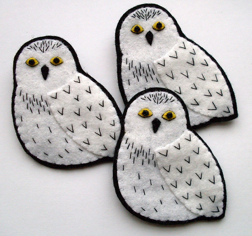 Snowy Owls | by bugsandfishes by lupin