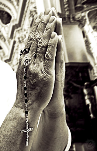 Praying Hands w/Rosary | by Eddie DaEagle