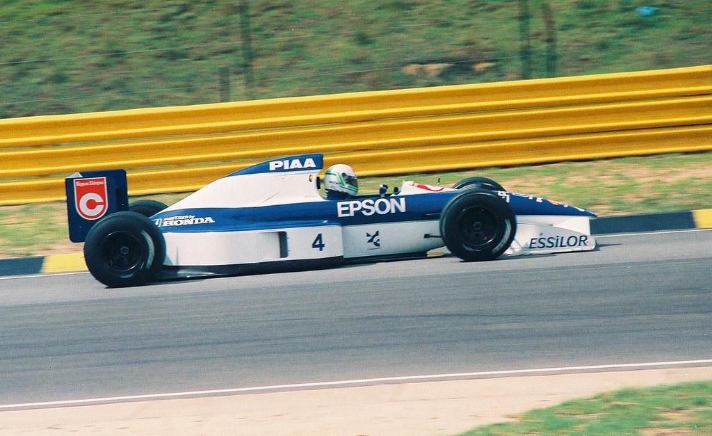 Tyrrell Honda 020 Stefano Modena I Took These Photos