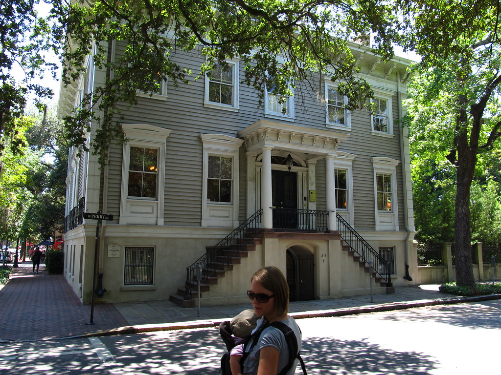 Historic Home At Corner Of Bull And Perry Street Across F