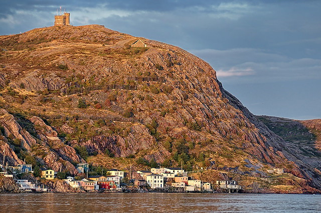 Signal Hill and the Battery, St.Johns, Newfoundland