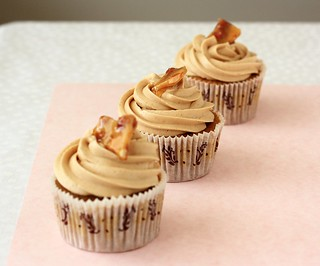 Coconut Coffee Cupcake with Peanut Butter Buttercream (Cupcake Hero::November) | by Xiaolu // 6 Bittersweets