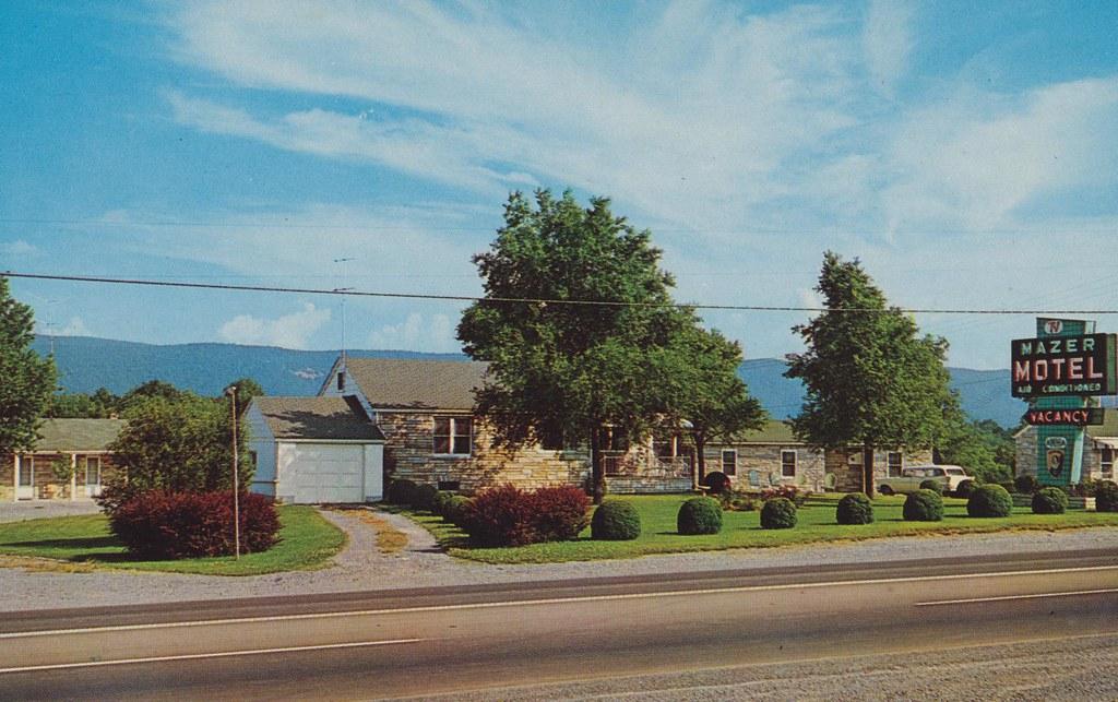 Mazer Motel - Strasburg, Virginia