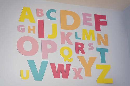 ... DIY Alphabet | By Sara.seeton