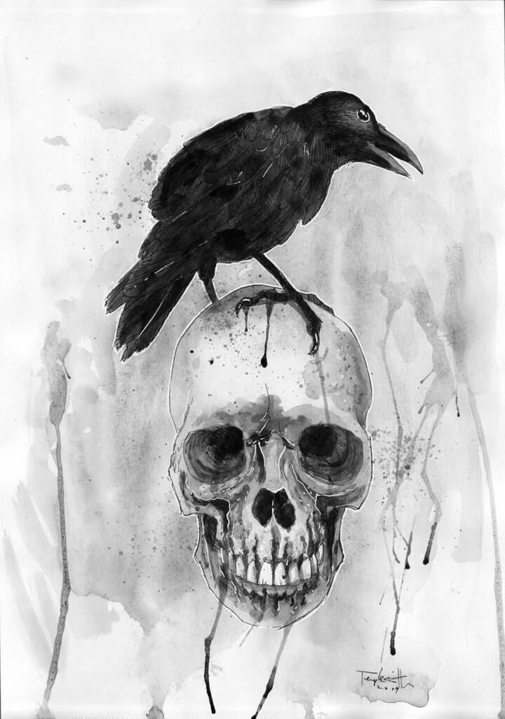 The Raven Before And After Ben Templesmith Flickr