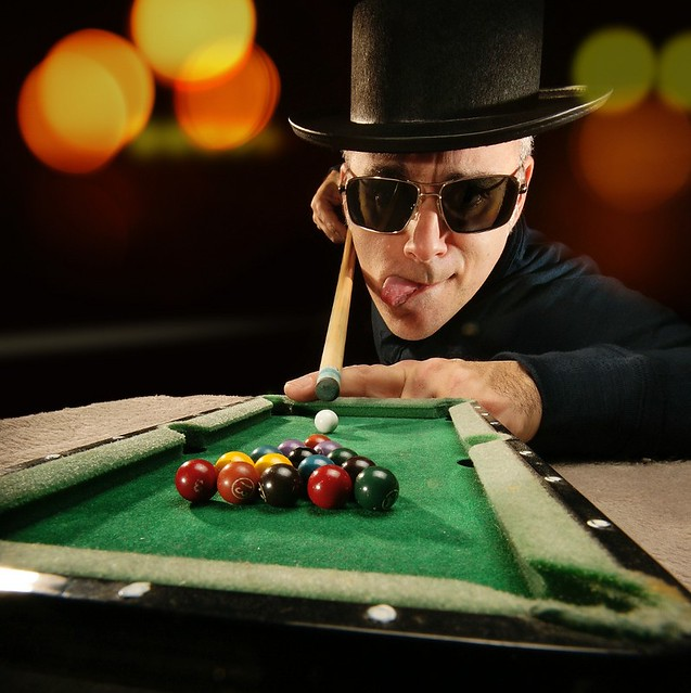 Let's Play Pool Charlie... Shall We? [E