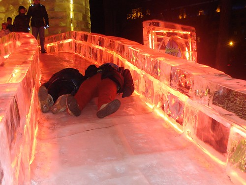 Disney Ice Castles, Igloos, Slides in China | by http://klarititemplateshop.com/