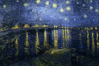 Vincent van Gogh: Starry Night over the Rhone (1888) | by petrus.agricola