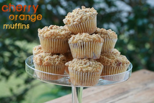 Cherry Orange Muffins | by Food Librarian