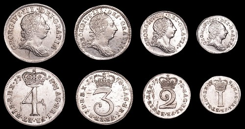 George III Maundy Set 1772