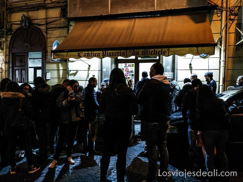 paseos por Nápoles L'antica pizzería
