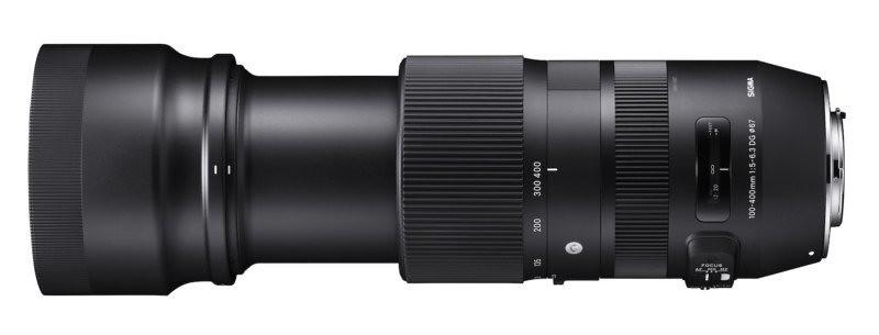 Sigma annonce l'objectif «bazooka» 100-400mm f/5-6.3 DG OS HSM