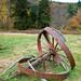 Wheel in Field, Blue Hills Reservation, Milton, Massachusetts