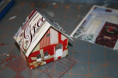 Christmas card Putz houses | by christmasnotebook