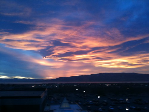 Utah Valley Sunset - November 20, 2009 | by a4gpa