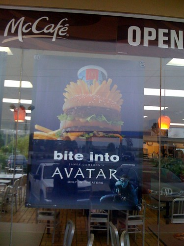 Avatar poster at McDonalds | by Paxton Holley