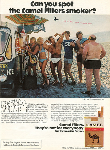 Can You Spot The Camel Filters Smoker ?