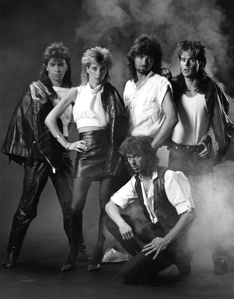 Stargazer 1 The Cherie Beck Band 1985 Standing Left