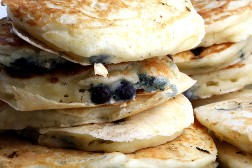 blueberry buttermilk pancakes | by browniesfordinner