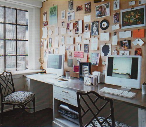 Ellen Rakieten's Office Wall