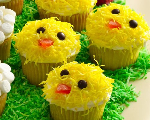 Recipe Easter Chicks Cupcakes Ingredients Cupcakes 1