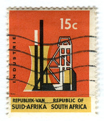 South Africa Postage stamp: Industrie | by karen horton