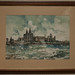 Liverpool and River Mersey Watercolour