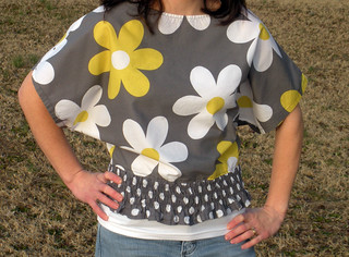 Blossom Shirt | by Sew Spoiled