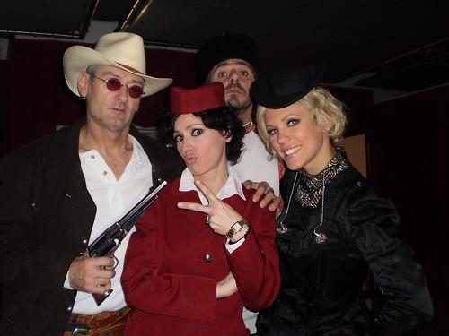 Michael, Tina, Lorie et Patrick