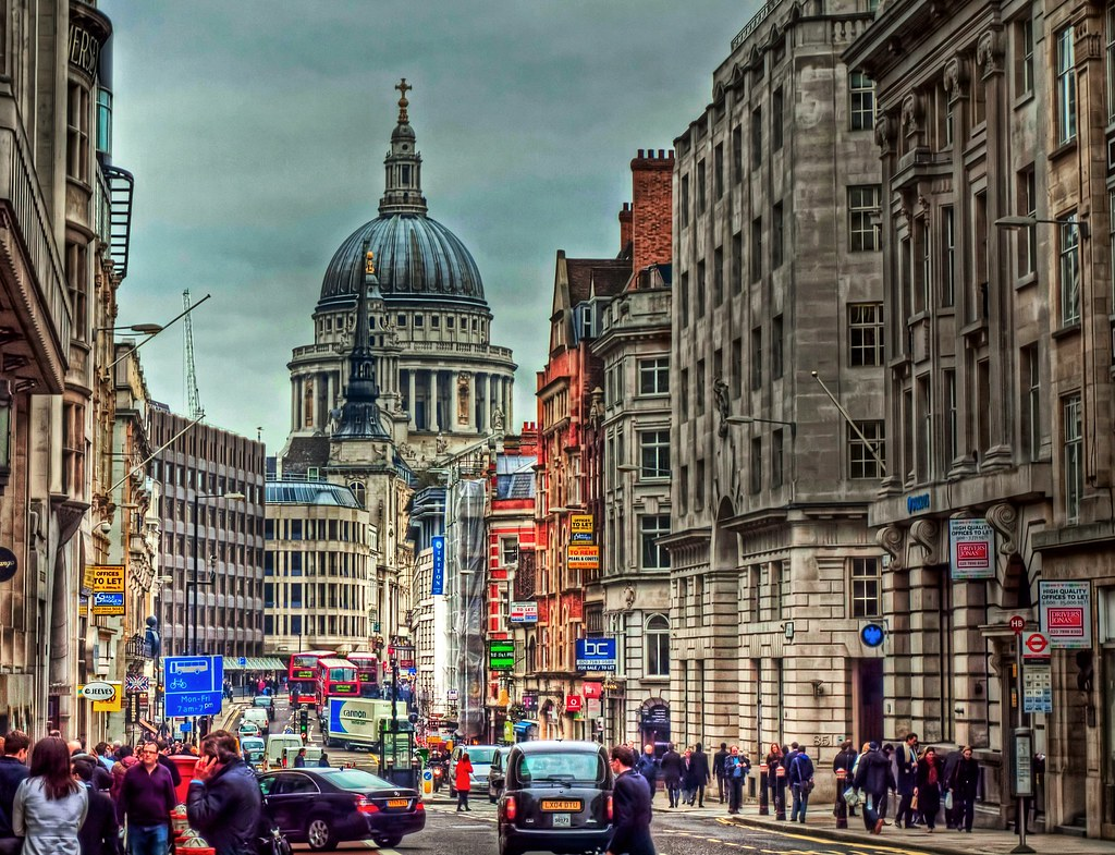 Image result for fleet street london busy
