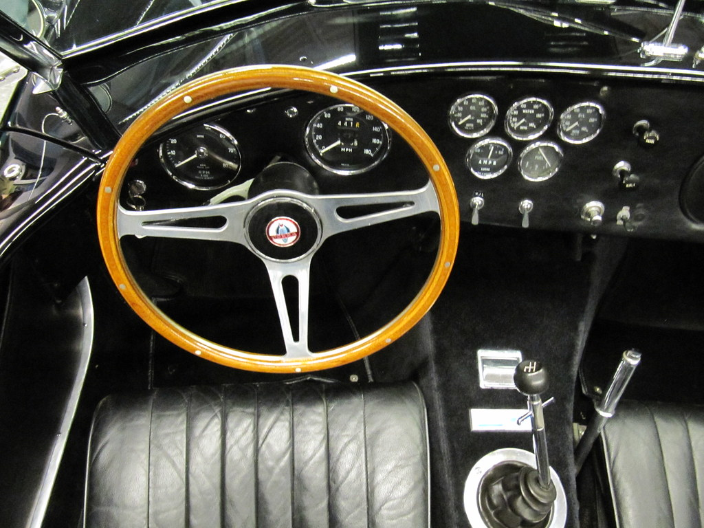 1965 ac shelby cobra 427 interior chassis csx 3119 the