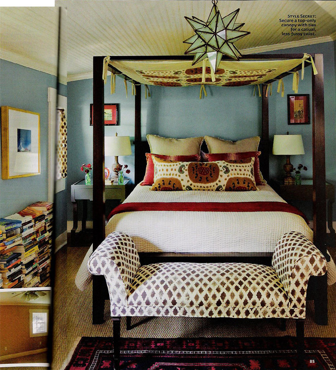 bedroom via southern living ashley flickr