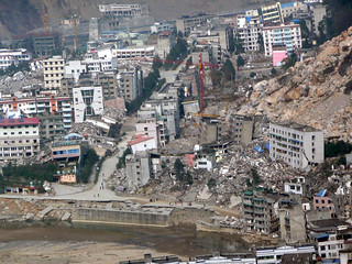 Ruins of Beichaun city after Sichuan earthquake 5.12 China  四川大地震 | by dcmaster