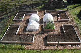 raised beds full of earth | by boodely