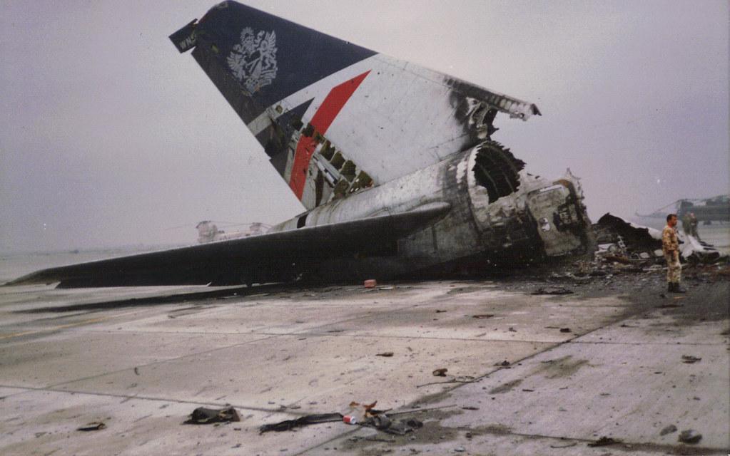 British Airways 747 Kuwait International Airport 1991 Flickr
