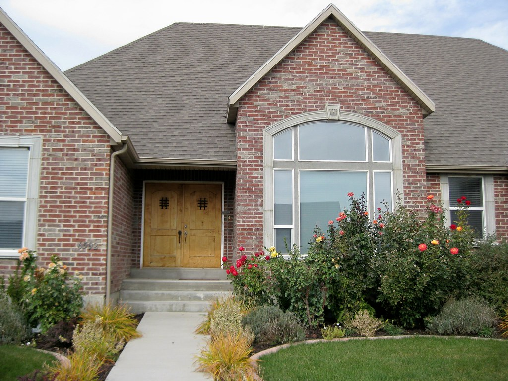 Beautiful all brick rambler for sale in highland ut flickr for Beautiful rambler homes