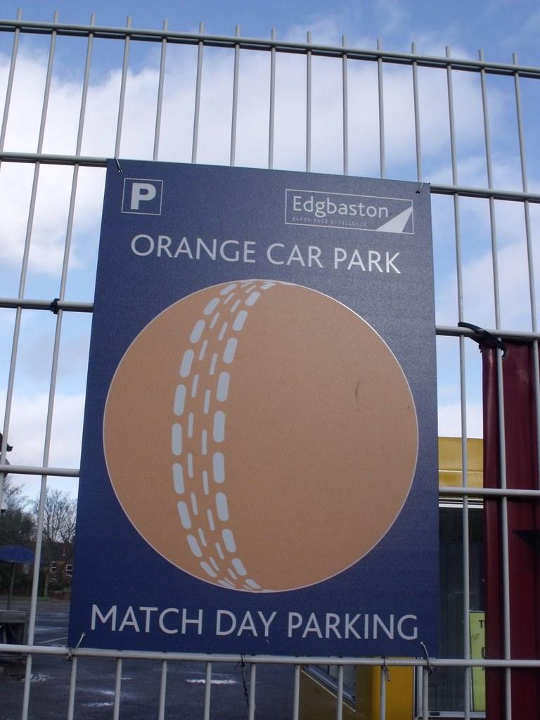 Car Parking Near Edgbaston Cricket Ground