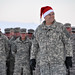 Army Chief of Staff Gen. George W. Casey Jr. displays holiday spirit