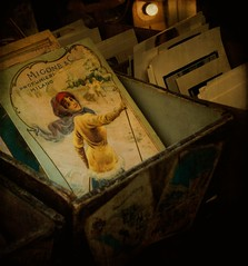 old postcards in Italian antique shop ... | by v.sassy ..