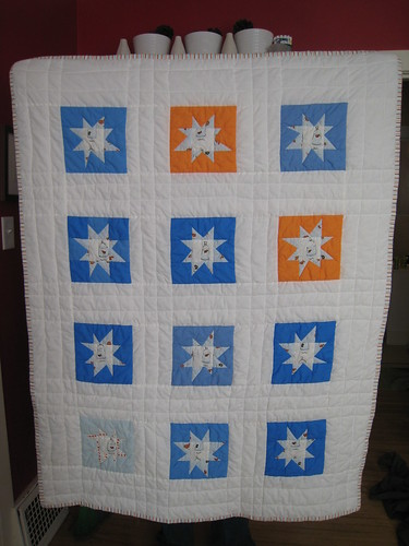 fish in bags wonky star | by Leigh - leedle deedle quilts